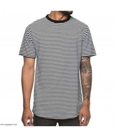 Custom Made Zega Apparel All Over Printed Neck Rib T-Shirt