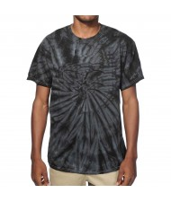 Custom Made Zega Apparel Black Tie Dye T-Shirt
