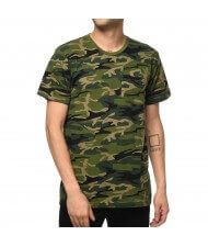 Custom Made Zega Apparel Camouflage Pocket T shirt