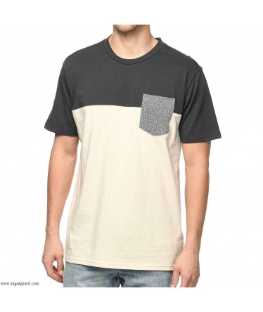 Custom Made Zega Apparel Cut and Sew Pocket T shirt