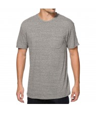 Custom Made Zega Apparel Jersey Fabric Basic Pocket T shirt