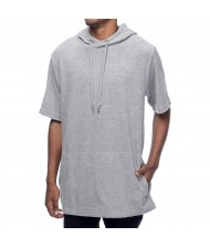 Custom Made Zega Apparel Long Length Hoodie Style T shirt