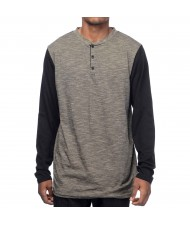 Custom Made Zega Apparel Long Sleeve Henley T shirt