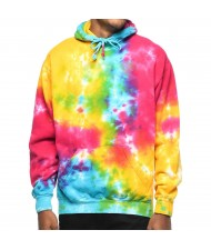 Custom Made Zega Apparel Pull Over Basic Tie Dye Hoodies