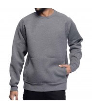 Custom Made Zega Apparel Raglan Kangaroo Pocket Sweat Shirt