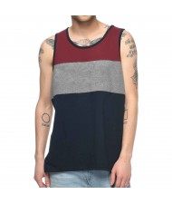 Custom Made Zega Apparel Multi Fabric Cut and Sew Tank Top