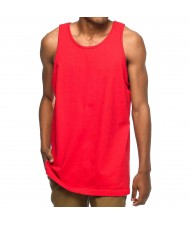 Custom Made Zega Apparel Basic Red Color Tank Top