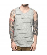 Custom Made Zega Apparel Striped Tank Top