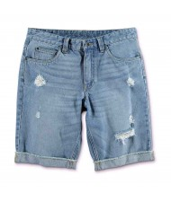 Custom Made Zega Apparel Basic Jeans Distressed Shorts
