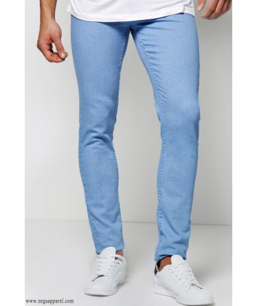 cut and sew Denim Fitted Jeans