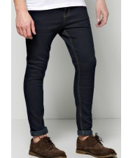 cut and sew Skinny Smart Jeans