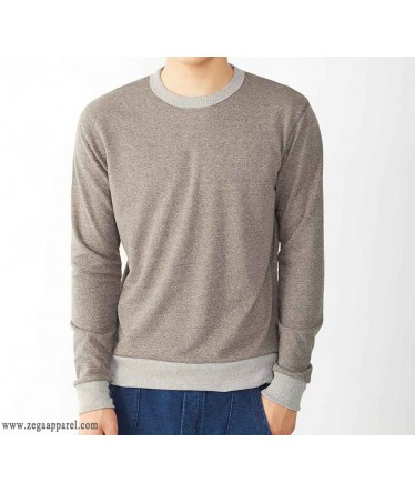 cut and sew Contrast Sweatshirts