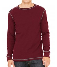 cut and sew Long Sleeve Slim fit T-shirt