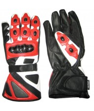 cut and sew Sports Leather Biker Gloves