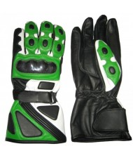 cut and sew Leather Gear Biker Gloves