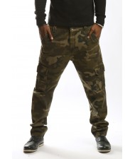 cut and sew Camouflage Pants