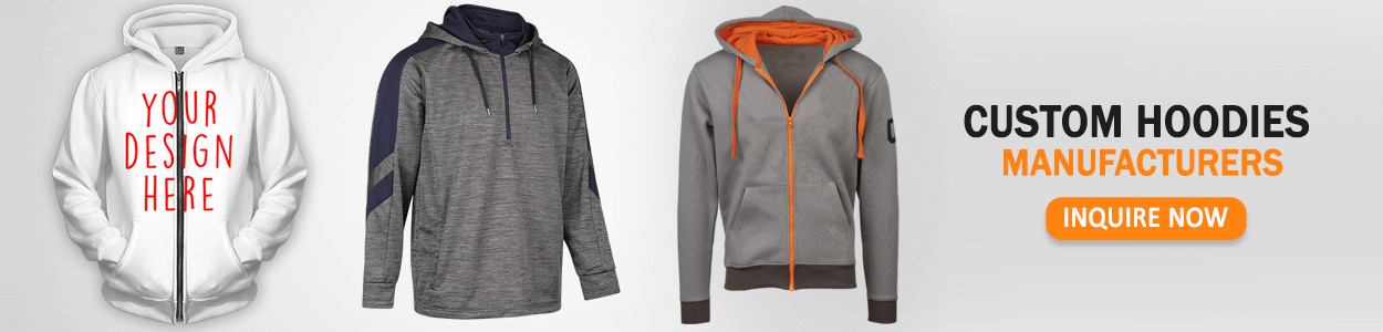 Custom Hoodies Manufacturers